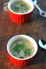 Cách nấu súp gà nấm hương nóng hổi ngọt thơm cho bữa sáng