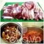 Cách làm xá xíu thịt heo làm đồ nhắm cực hấp dẫn